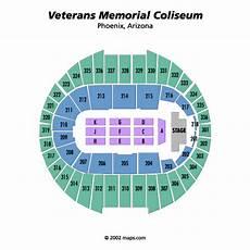 Veterans Memorial Seating Chart Veterans Memorial Coliseum Phoenix Tickets Schedule