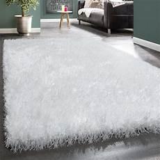 tappeti shaggy shaggy pelo alto tappeto morbido fibre lucide brillantini