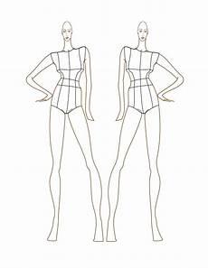 Body Templates For Designing Clothes Fashion Design Templates Sadamatsu Hp