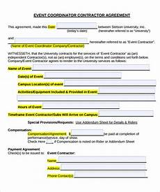 Event Planner Agreement Event Contract Template 25 Download Documents In Pdf