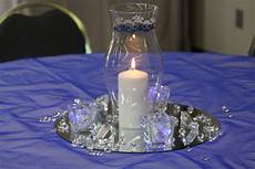 bella beginnings royal blue and silver church wedding and