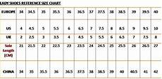 Asian Shoe Size Chart To Uk Wonderful World Of Shoes Shoe Size Chart
