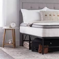 10 inch size hybrid mattress with folding platform