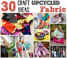 upcycled fabric craft ideas ted make crafting