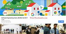 Apply Google Internship Apply Now For Google Software Engineering Internship