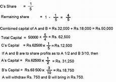 Cma Adjustments Chart Adjustment Regarding Capitals Of Partners Taxdose Com