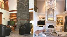 living room makeovers interior designers before and
