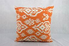 sale ends soon throw pillows sofa orange 18x18 by homemakeover