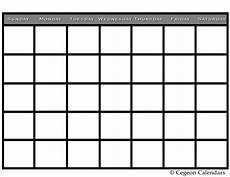 Free Blank Calendar Pages Printable Calendars Yangah Solen