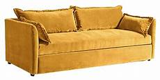 Sofa With Trundle Png Image by Denver Trundle Sleeper Sofa Velvet Gold 86 Quot Decorist