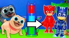 pj masks clothes puppies pj masks and puppy pals silly transforming tower