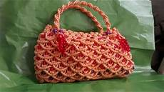 how to make diy macrame purse for and