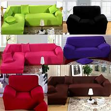 loveseat stretch elastic fabric sofa cover pet sectional