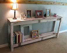 Rustic Wood Sofa Table 3d Image by Rustic Sofa Table In Farmhouse White
