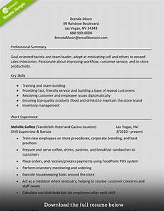 What Does Skills Mean On A Resumes Barista Good Resume Examples Resume Skills Resume Examples