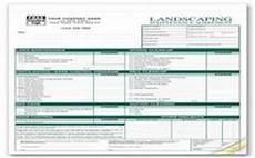 Lawn Care Bid Template Printable Landscape Bid Templates Template For Landscape