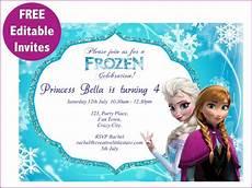 Frozen Birthday Invitations Printable Frozen Free Printable Invitations Templates Free Frozen