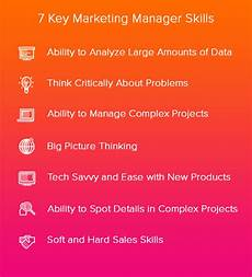 Managers Skills And Abilities 7 Key Competencies For Creative Marketing Managers
