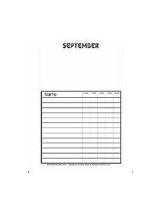 Images Of Attendance Chart Free Sunday School Attendance Chart Printable