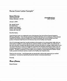 New Graduate Nursing Cover Letter Samples Nursing Cover Letter Example 11 Free Word Pdf