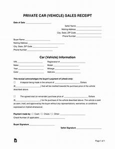 Car Sale Receipt Template Free Vehicle Sale Receipt Template Pdf Word
