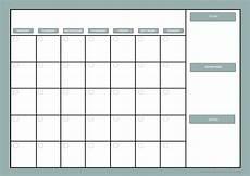Calendar Planner Templates Diy Monthly Planner Dry Erase Calendar Free Printable