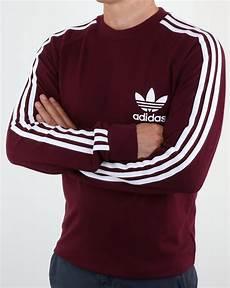 adidas sleeve shirt adidas originals sleeve pique t shirt maroon mens