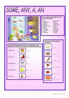 some any a an worksheet free esl printable worksheets