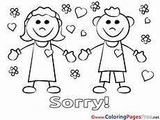 Apology Coloring Pages Apology Colouring Pages Sketch Coloring Page