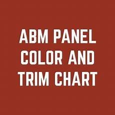 Ab Martin Color Chart Abm Panel Metal Roofing Panel From A B Martin Roofing