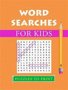Word For 20 Word Searches For Kids Printable Pdf Puzzles To Print