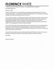 Medical Field Cover Letter Free Cover Letter Examples For Every Job Search Livecareer