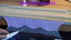 knit machine machine knit chevron