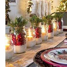 come addobbare la tavola di natale fai da te candele lanterne bacche pigne o spezie fai da te il