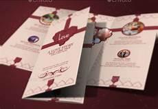 Tri Fold Invitation Templates Tri Fold Wedding Invitation Template 17 Free Amp Premium