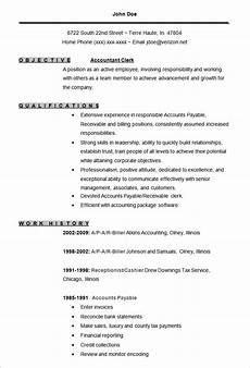 Resume Format For Experienced Accountant Pdf 20 Accounting Resume Templates Pdf Doc Free