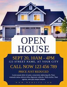 Real Estate Open House Flyers Open House Real Estate Flyer Template Postermywall