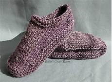 new knitting project slippers billie s craft room