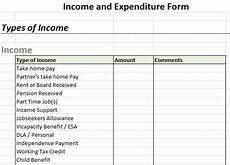 Income And Expenditure Statement Template Free Download Example Income And Expenditure Form Retailers Pinterest