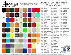 S Acrylic Craft Paint Color Chart Acrylic Leather Paints For All Your Customizing Needs