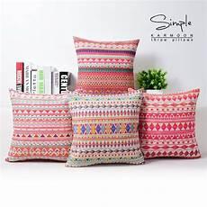 bohemian cushion cover geometric throw pillow cases