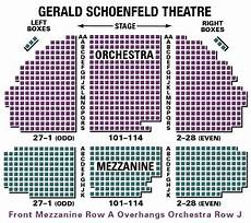 Gerald Schoenfeld Theatre Seating Chart News And Alerts 2009