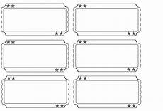 Draw Ticket Template Free Printable Carnival Ticket Templates Raffle Ticket