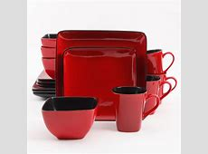 Better Homes and Gardens Rave 16 Piece Square Dinnerware