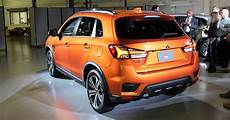 mitsubishi electric car 2020 2020 mitsubishi outlander sport gets a striking new look
