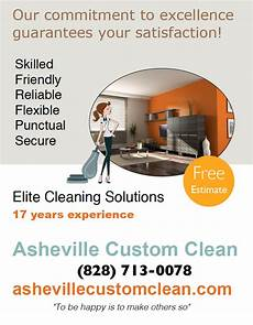 Examples Of Cleaning Business Flyers Cleaning Business Flyer