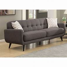 Sofa Mid Century Modern 3d Image by Mid Century Modern Charcoal Sofa Free Shipping