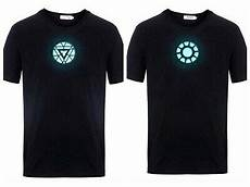 Tony Stark Light Up Led Iron Man T Shirt Led Shirt Iron Man The Avengers Tony Stark Light Up Arc