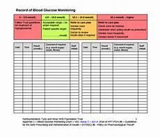 Glucose Chart Pdf Sample Blood Glucose Chart 9 Free Documents In Pdf