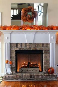Decorate Fireplace Lighting Like The Wood Pile In The Fireplace With The Twinkle